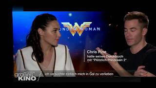Wonder Woman  :  Gal Gadot & Chris Pine