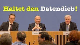Seehofer, BKA-Chef Münch & BSI-Chef Schönbohm zum Datendiebstahl - BPK 8. Januar 2019