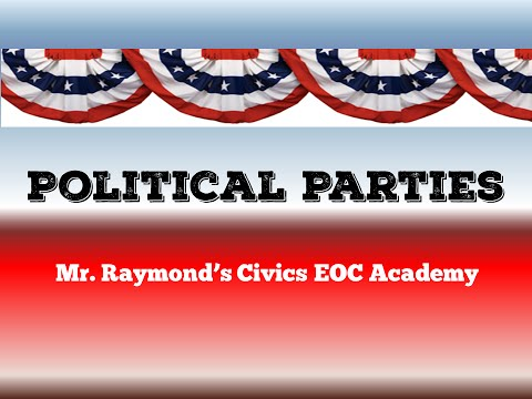 US Political Parties - Democrats, Republicans, & Third Parties