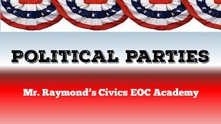 US Political Parties - Democrats, Republicans, & Third Parties