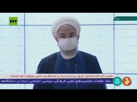 حسن روحاني يدلي بصوته في انتخابات الرئاسة الإيرانية  - نشر قبل 44 دقيقة