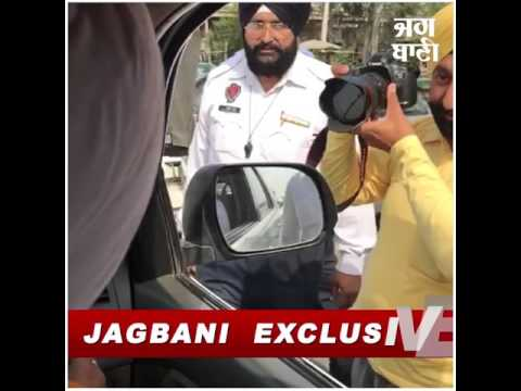 Exclusive: Manpreet Badal's sting operation on Traffic Police in Dorahah, Ludhiana!