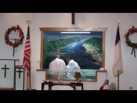 Sunday, September 7, 2014 – Baptisms