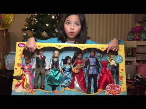 Disney's Elena of Avalor Deluxe Dolls Gift Set