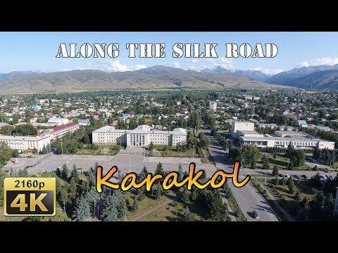 Birds Eye View of Karakol - Kyrgyzstan 4K Travel Channel