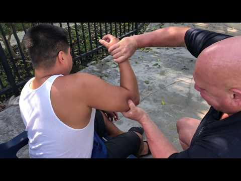 Tight Arm Restricted Movement In The Shoulder Treated By Raynor Massage|Pt 4 Of Brandon Working Saul