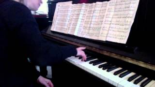 Piano Lesson: Mozart Alla Turca Allegretto from Sonata in A K. 331