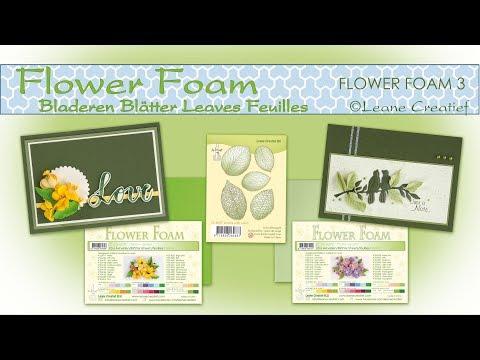 Flower Foam Leaves