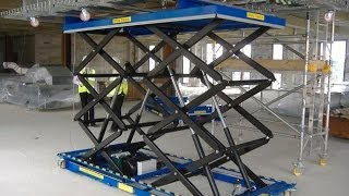 Custom Scissor Lift Tables, Bespoke Scissor Tables, Scissor Tables, Scissor Platform