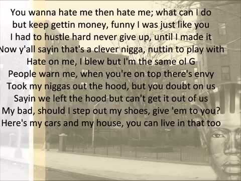 Nas   Hate Me Now with lyrics