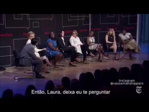Laura Prepon & Taylor Schilling at Times Talks (legendado)