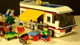 Lego Creator 31052 - Кемпинг - Домик на Колёсах - Видео Обзор для Детей