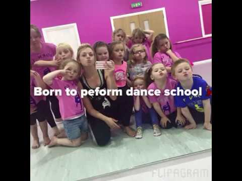 Born to perform dance school