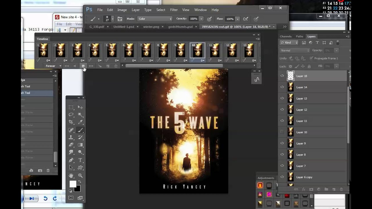 How to make an ANIMATED book cover that blows people's minds