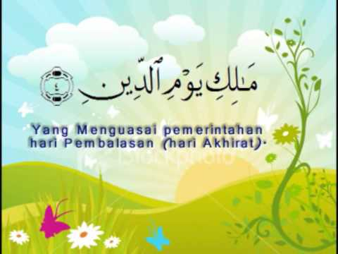 Al Fatihah by Al Afasy (Bahasa Translated)