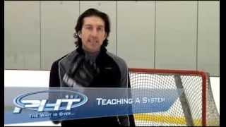 Тренировка хоккейного вратаря