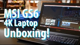 mSI GS60 Ghost Pro 4K Laptop Unboxing & Mini Review!