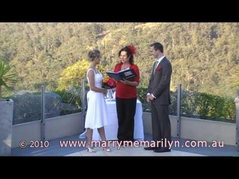 Wedding of Vicki & David - Marry Me Marilyn - Gold Coast Marriage Celebrant