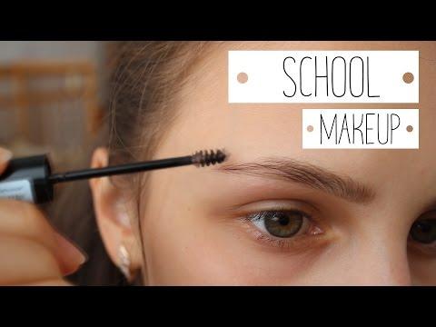My school makeup/ Школьный макияж за 2 минуты