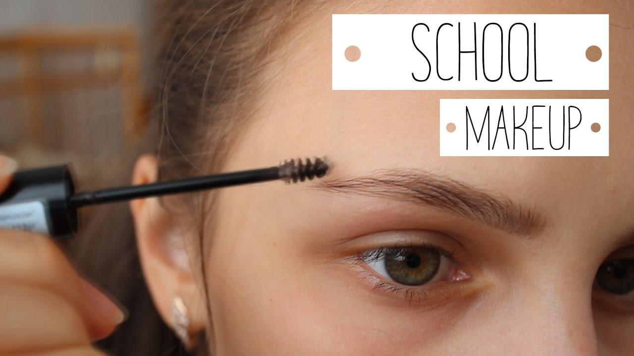 Okul İçin Harika İki Farklı Makyaj Bilgileri