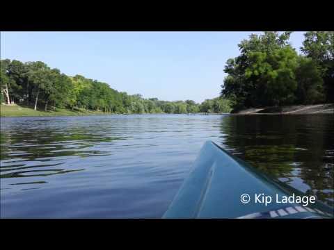 Paddling the Cedar River  © Kip Ladage  (7-12-13)