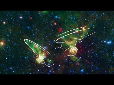 'Enterprise' Nebulae Seen by Spitzer Space Telescope
