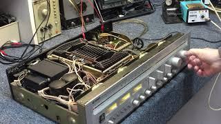 Yamaha CR-2040 Receiver - pt.1 eval & repair