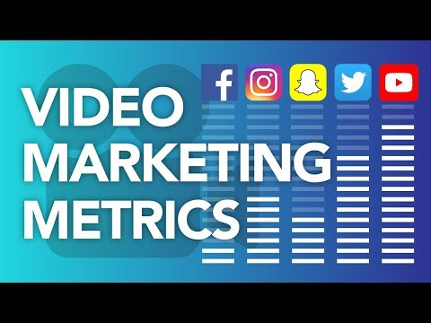 Social Video Metrics: Video Marketing On Facebook, Instagram, Snapchat, Twitter, and YouTube