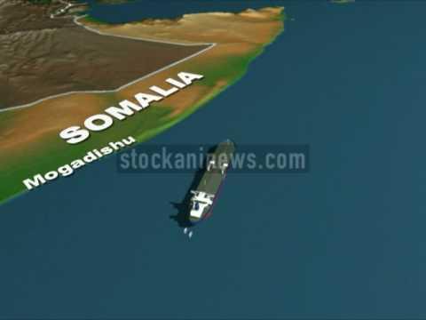 Somali pirates hijack the Sirius Star, a giant oil tanker