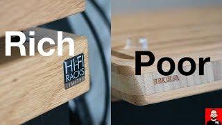 Room tour: hi-fi display furniture for rich and poor screenshot 3