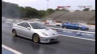Celica GTS N/A vs Nissan 350z's