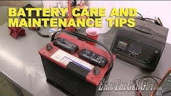 Battery Care and Maintenance Tips -EricTheCarGuy