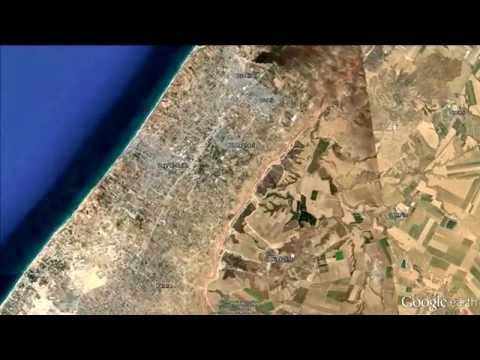 Take a Google Earth tour of the Gaza Strip