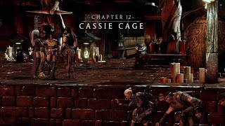 Mortal Kombat X   Story Mode (Chapter 12: Cassie Cage)