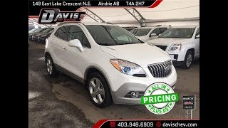 Pre-Owned 2015 Buick Encore Convenience | Davis Chevrolet | Airdrie AB