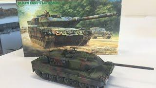 Building the Tamiya 1/35 Leopard 2A6 main battle tank