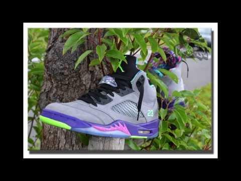 {On Feet} Air Jordan Retro V 'Bel-Air' IG: Sneakaninjaz (HD)