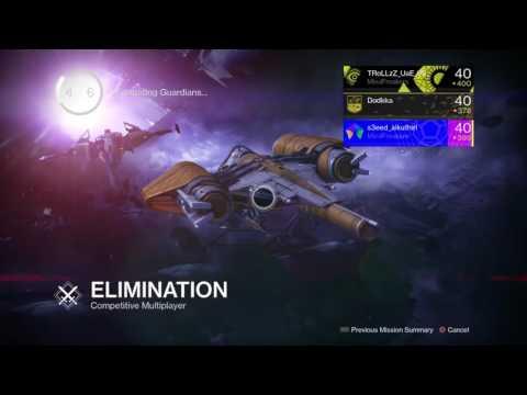 Elimination Broadcast #1
