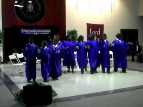 "HCCI Praise Dance Team~""We don't need no music""-Mali Music"