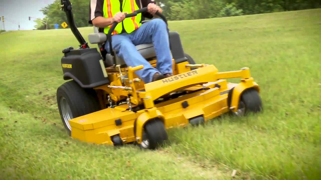 Hustler riding lawn mowers