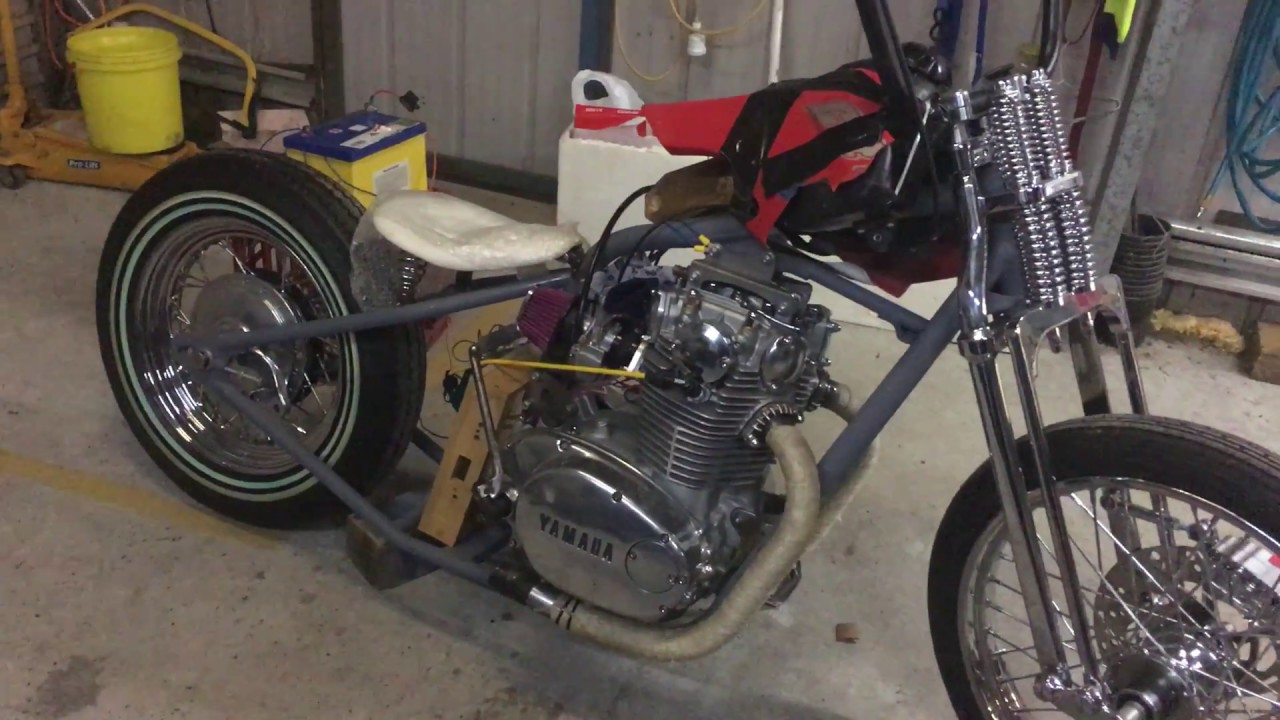 Rephased XS650 1st start — MyVideo