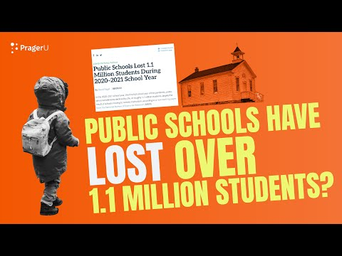 Public Schools Have Lost Over 1.1 MILLION Students?