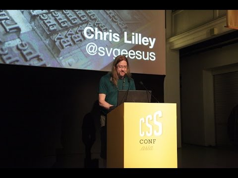 Chris Lilley: WebFonts - Level Up! - CSSConf.Asia 2015