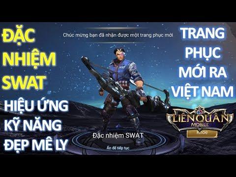 Trang phục mới ra mắt Việt Nam: YORN Đặc Nhiệm SWAT Hiệu ứng đẹp mê ly [Mua và test luôn]