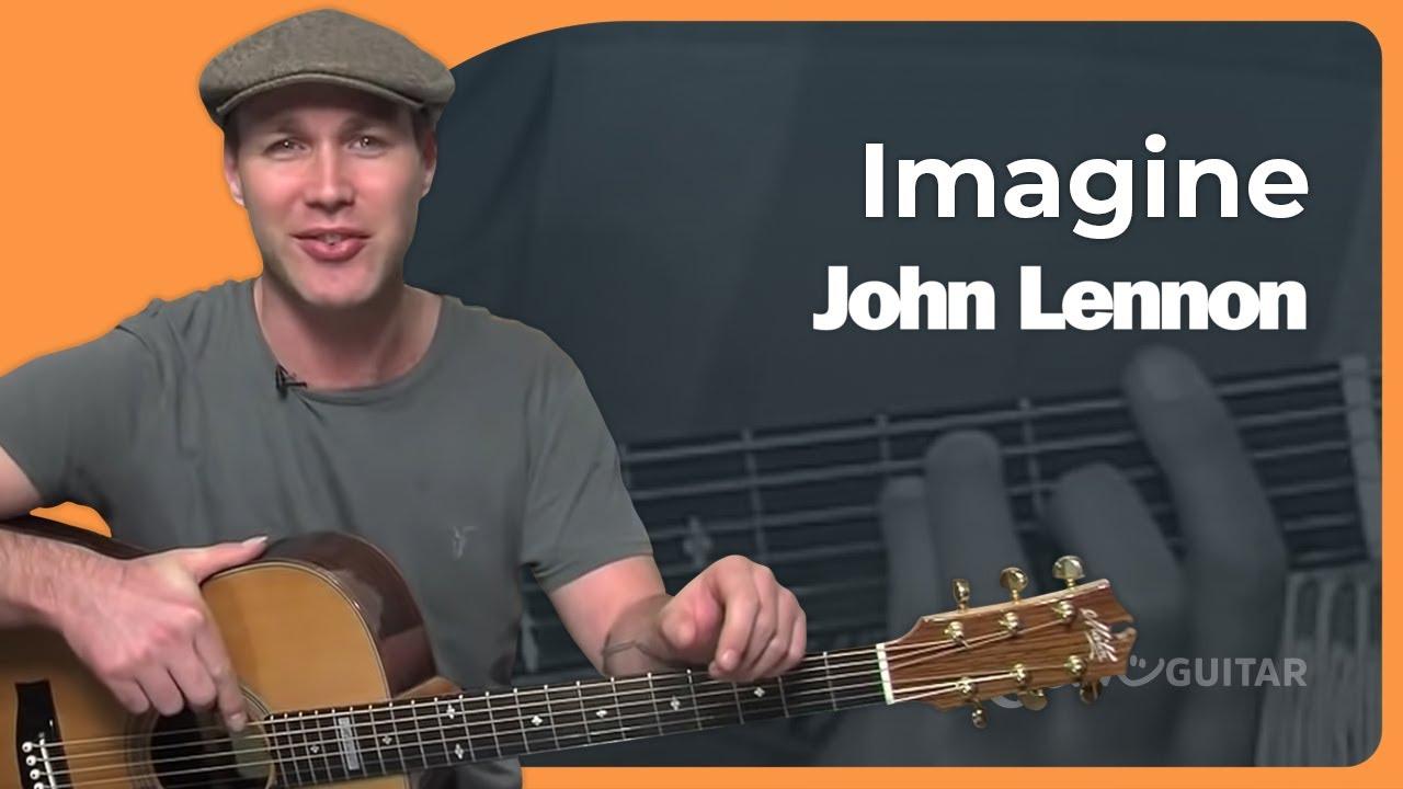 Imagine John Lennon Beginner Song Guitar Lesson Bs 992 How To Play Youtube
