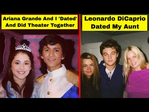 People That Knew Or Dated Celebrities Way Before They Were Famous