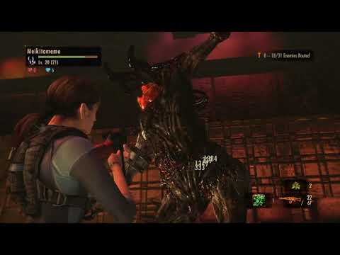 [1/1[ Resident Evil Revelations 2 - Raid Mode: Hard II - Mission 6 [NC] [Jill]