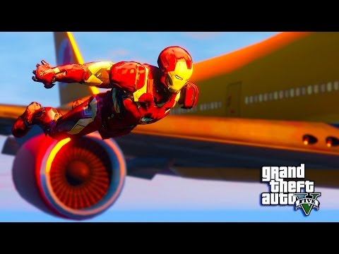 GTA 5 Mods - INSANE IRON MAN MOD !! GTA 5 Iron Man Mod Gameplay! (GTA 5 Mods Gameplay)