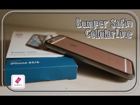 cellular line bumper satin iphone