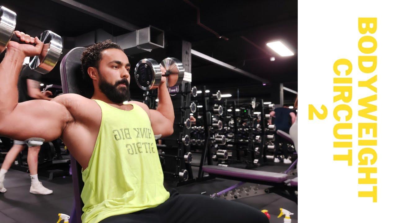 BODYWEIGHT CIRCUIT 2- DIABADASS EXERCISE